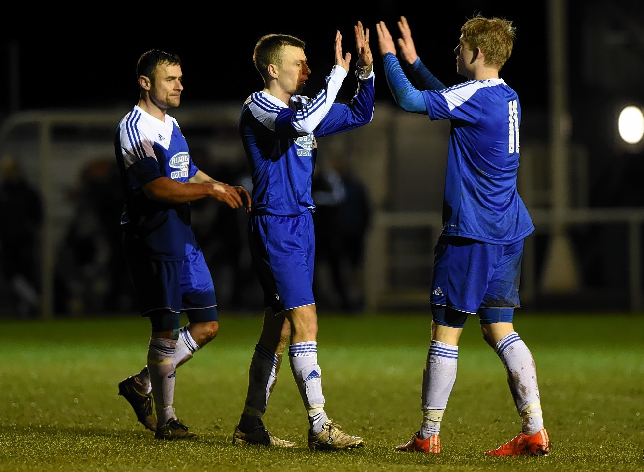 Cove rangers 5 0 strathspey thistle five star display at for Five star motors aberdeen