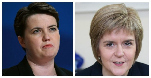 Ruth Davidson and Nicola Sturgeon led the calls