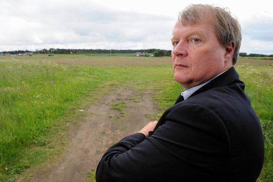 Nairnshire area leader Michael Green.