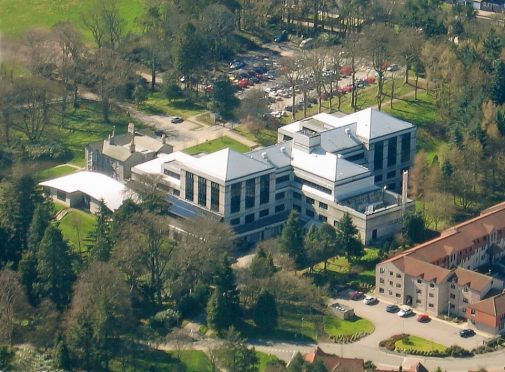 The JHI campus in Aberdeen