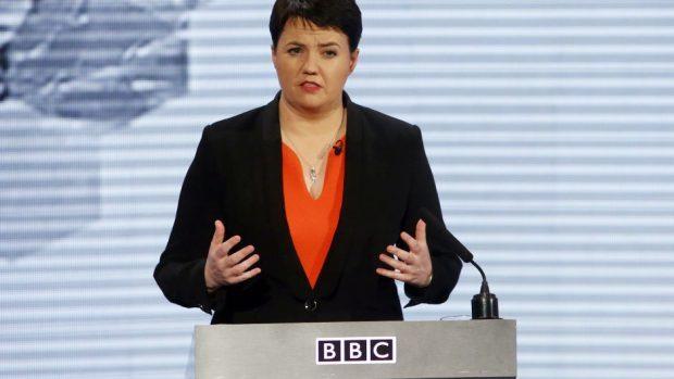 Conservative leader Ruth Davidson