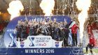 Ross County lifted the League Cup trophy