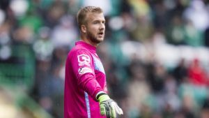Ross County goalkeeper Scott Fox