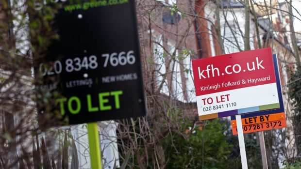One in five homes let this year is owned by a company landlord, according to new figures.
