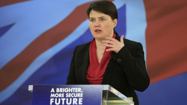 Ruth Davidson  made the pledge in Avimeore