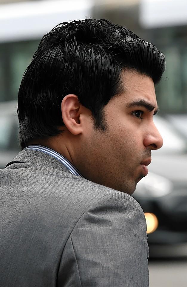 Aditya Rajiv was operating on the dark web