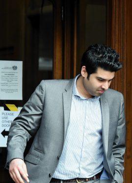 Aditya Rajiv leaves court