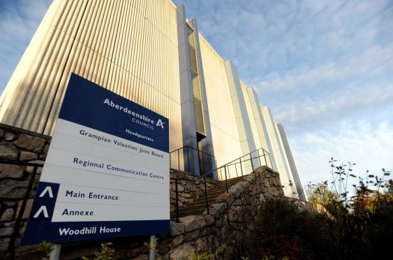 The leaders of Aberdeenshire Council have called on more cash-raising powers to be passed to Woodhill House.