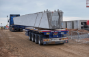 The beams, which will be delivered on special abnormal load trucks