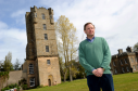 Angus Lennox, head of the estate managing Speyside's Gordon Castle