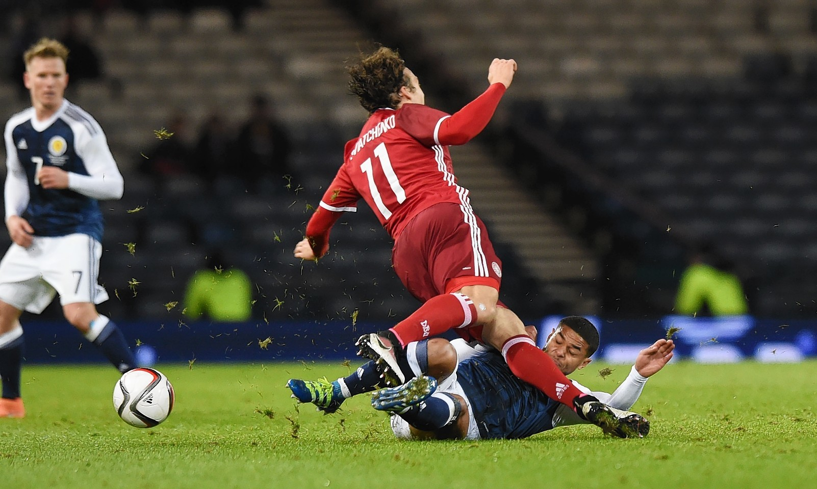 Erik Sviatchenko was floored by Bridcutt's challenge