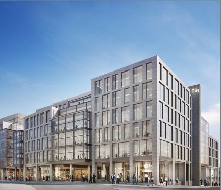 Aberdeen has no shortage of new office projects