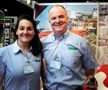Sharon Boyle and Hugh Bonner