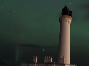 Sheila Forbes, Covesea Lighthouse, Lossiemouth