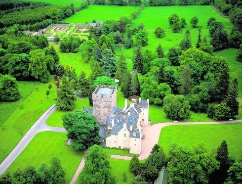 Drum Castle, in Drumoak.