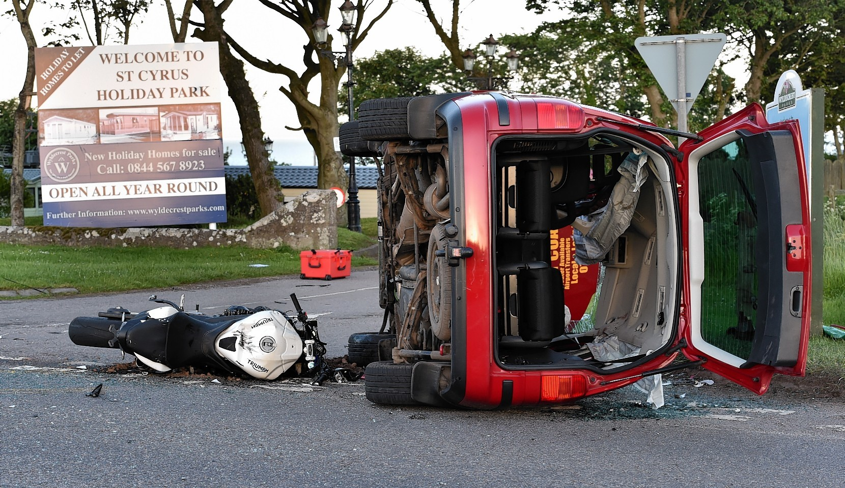Dundee Car Accident