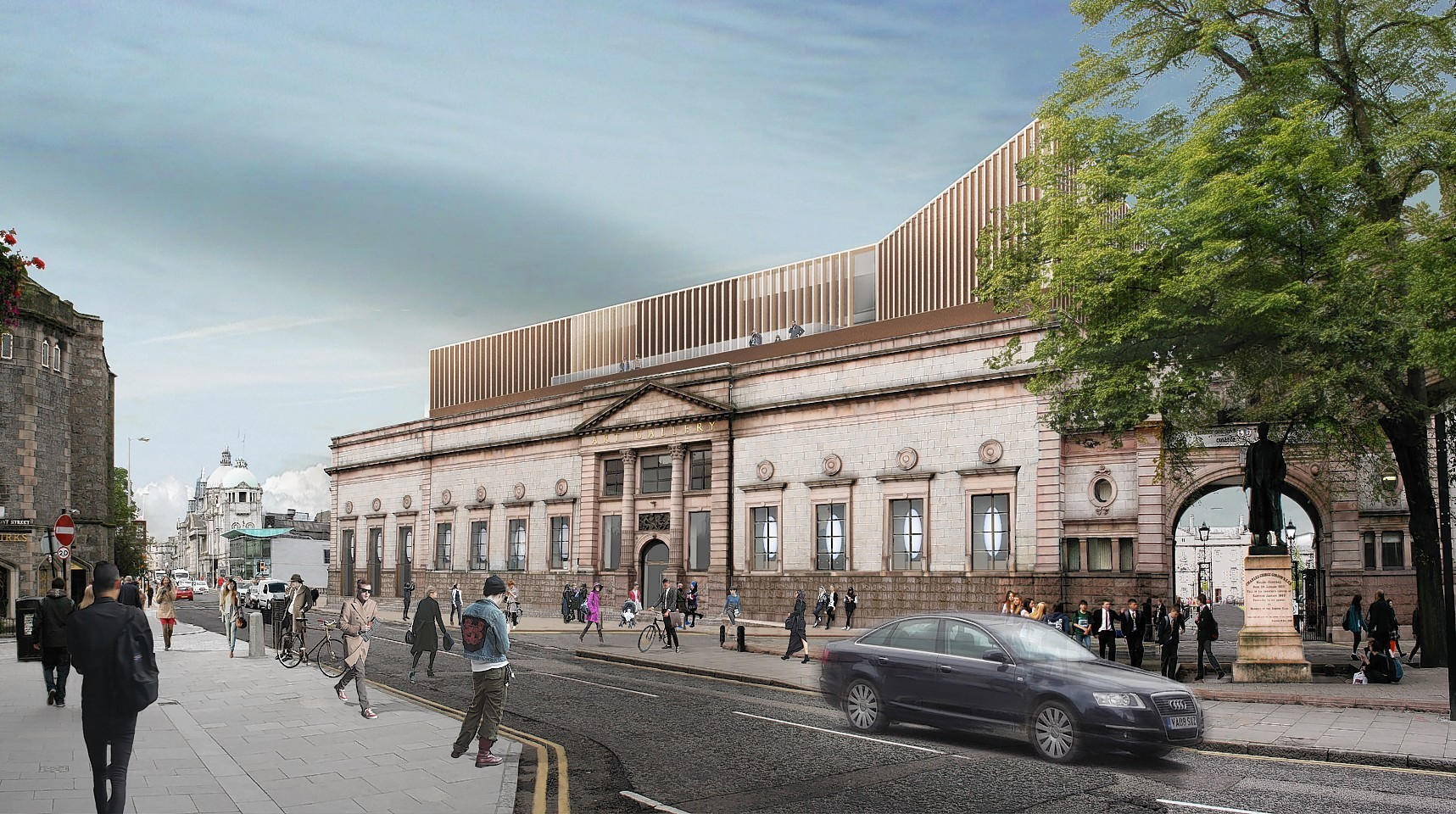 Council Launches Hunt For Aberdeen Art Gallery Fundraising