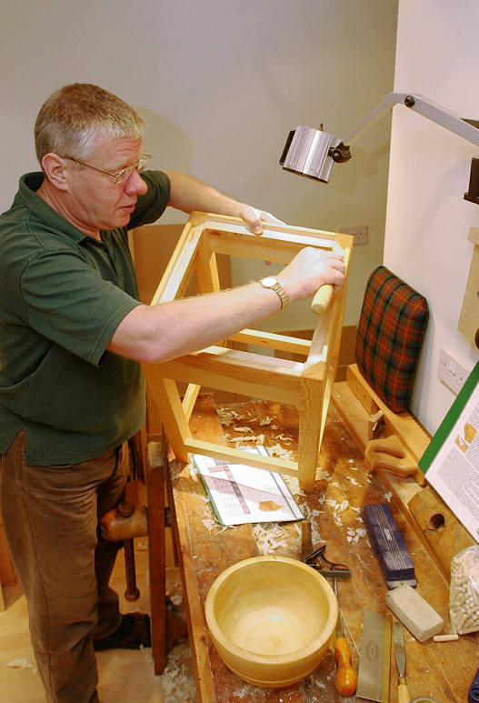 Alan Fyfe of Lethenty Mill near Inverurie in 2013.