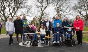Anna Ritchie mobility playpark opening