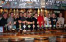 All hands to the pumps at the Clachaig Brewers' Gathering
