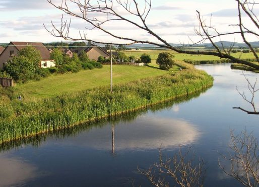 The River Don in Kemnay