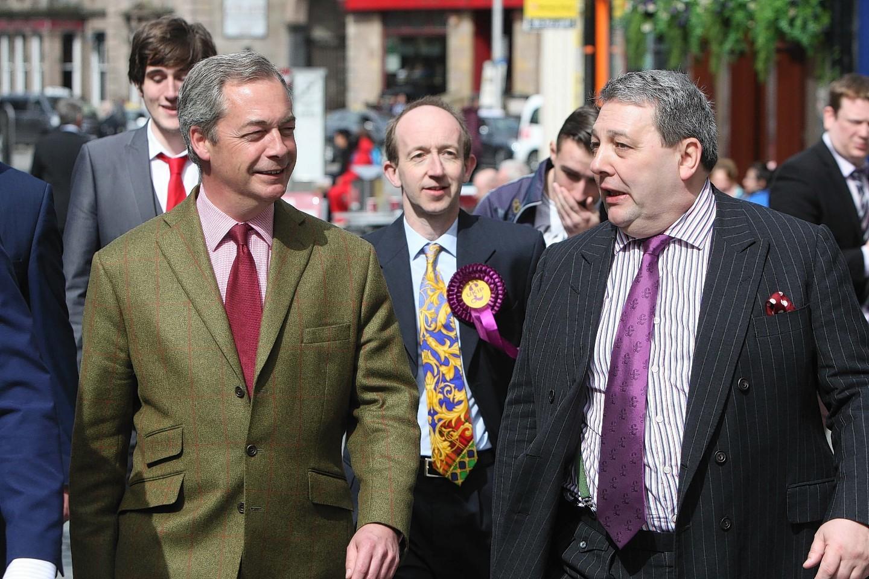 6ee10df1bbc0 Nigel Farage  Ukip will definitely win one Highland seat... And ...