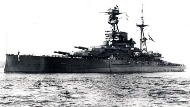 The HMS Royal Oak was torpedoed by a German u-boat on October 14, 1939, with the loss of 883 lives (PA/Ministry of Defence)