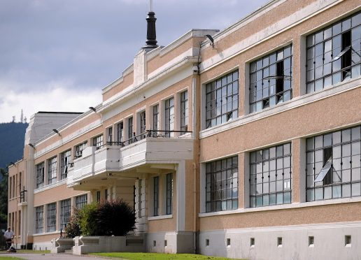 "Inverness High School  had to undergo an ""intense clean"" to remove glass and blood from within the building"