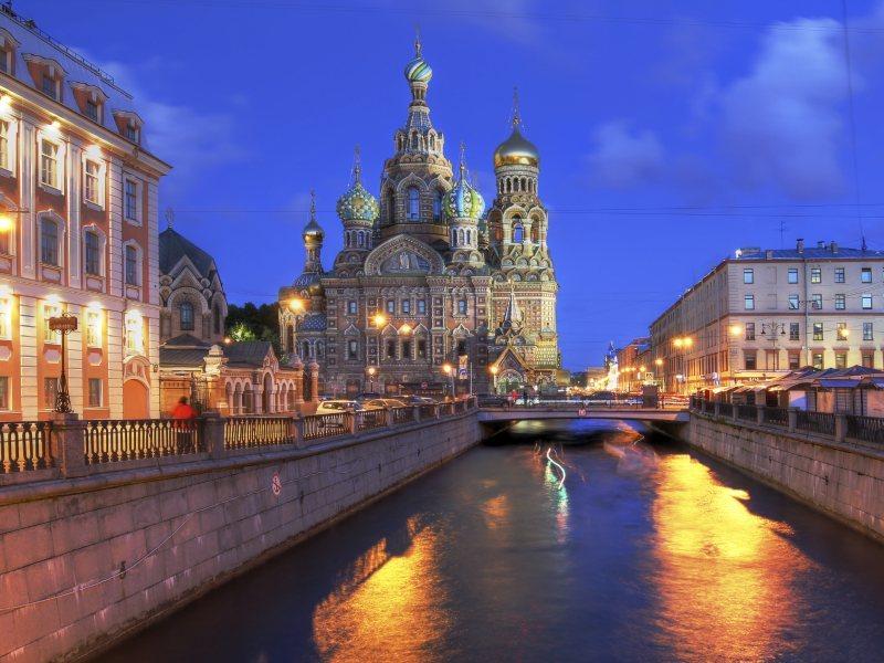St Petersburg, Russia.