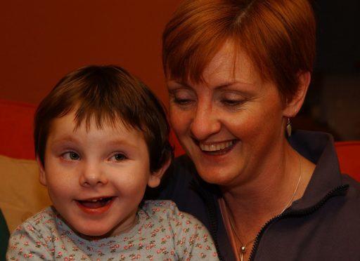 Rowan MacLeod & mum Jacqueline