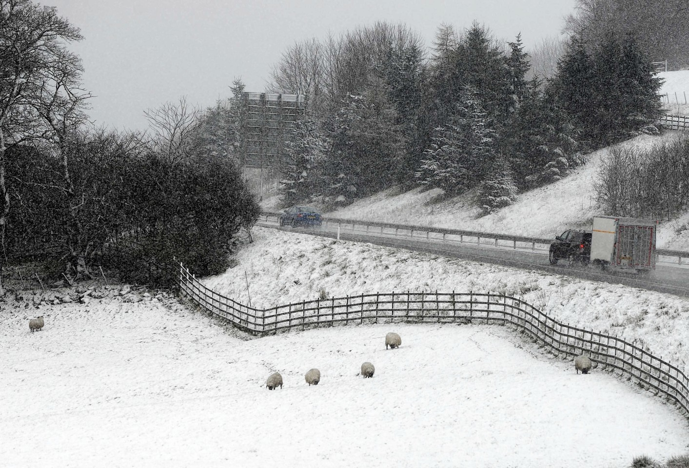 Scotland looks set for a wintry Bank Holiday weekend