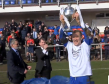 Cove Rangers celebrate their title win