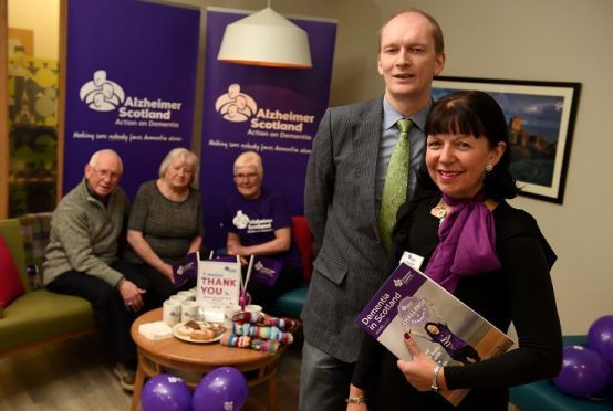 Aberdeen City and Shire Hotels' Association has raised thousands of pounds for Alzheimer Scotland. (Picture: Kami Thomson)