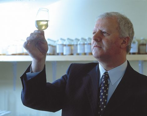 Billy Walker, managing director at BenRiach.Handout pic from RBS.