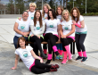Jacqueline Jamieson with Rebecca Taylor, Anntionett Hansen-Harcus, Sarah Christie and Rachel Ledingham, Claire Ross, Jenn Buckley, Marie Banks and Shona Barklay