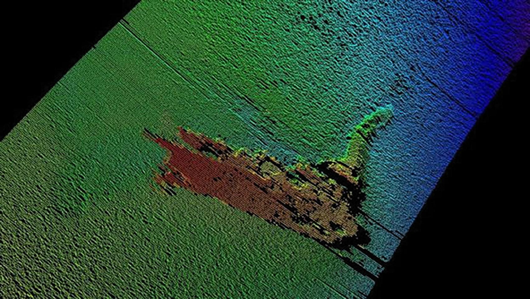 Sherlock's 'Nessie' found by Loch Ness sonar