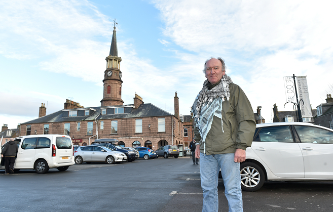 Phil Mills-Bishop, vice-chairman of the Stonehaven and District community council