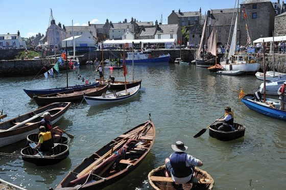 The Portsoy boat festival takes place this summer.