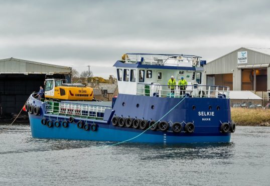 The vessel is named 'Selkie'