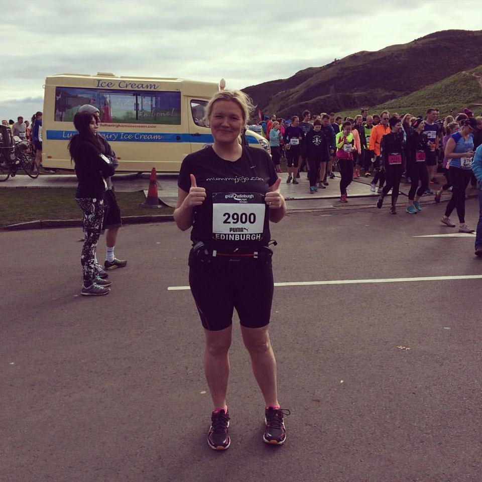 JoJo Fraser is running in the Edinburgh Marathon Festival to raise awareness