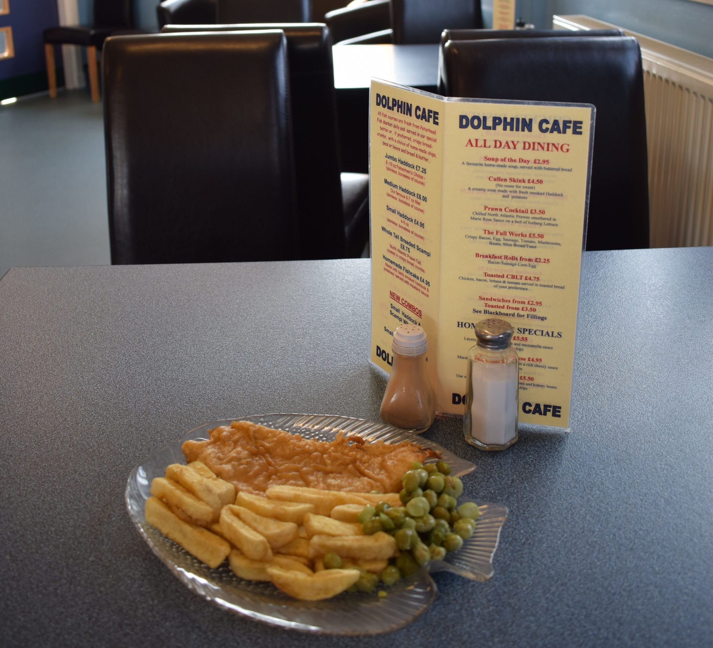 Dolphin Cafe Sponsored image