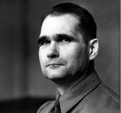 Adolf Hitler's deputy Rudolf Hess