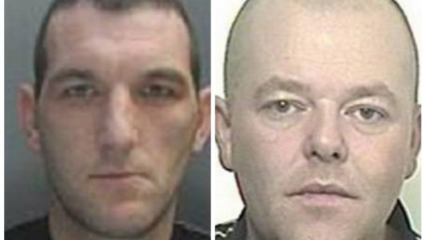 Joseph McHale, 38, and Kevin Schruyers, 42