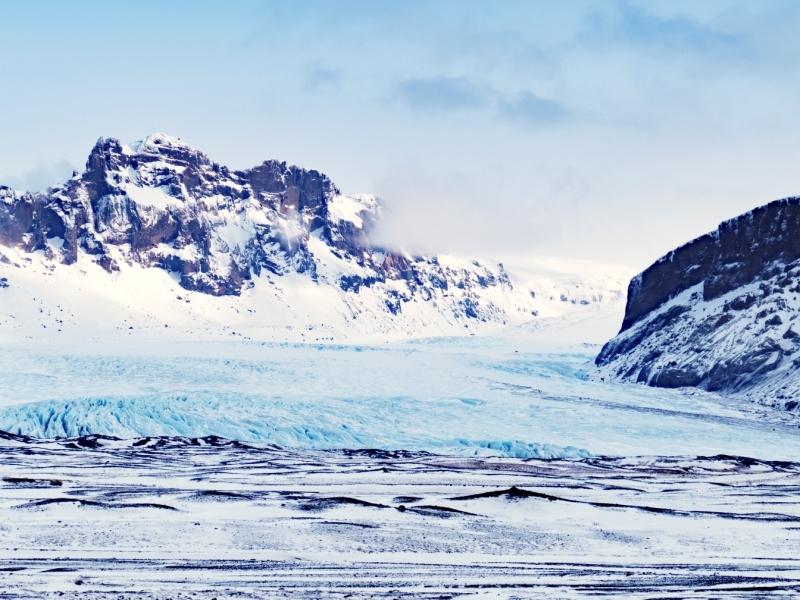 Skaftafell National Park.