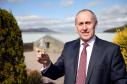 James Johnston, chairman of the Malt Whisky Trail at Glenlivet Distillery