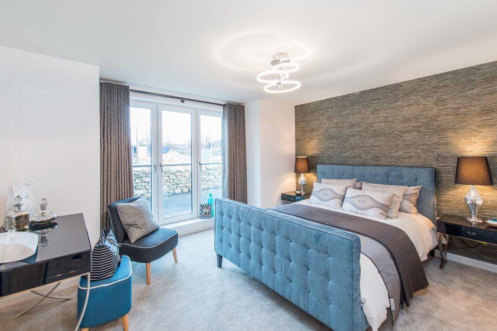 Maidencraig - Craigview apartment Master Bedroom
