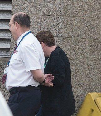 Nicola Williamson leaves court