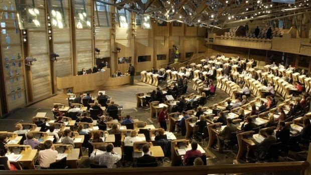 New powers have come to the Scottish Parliament