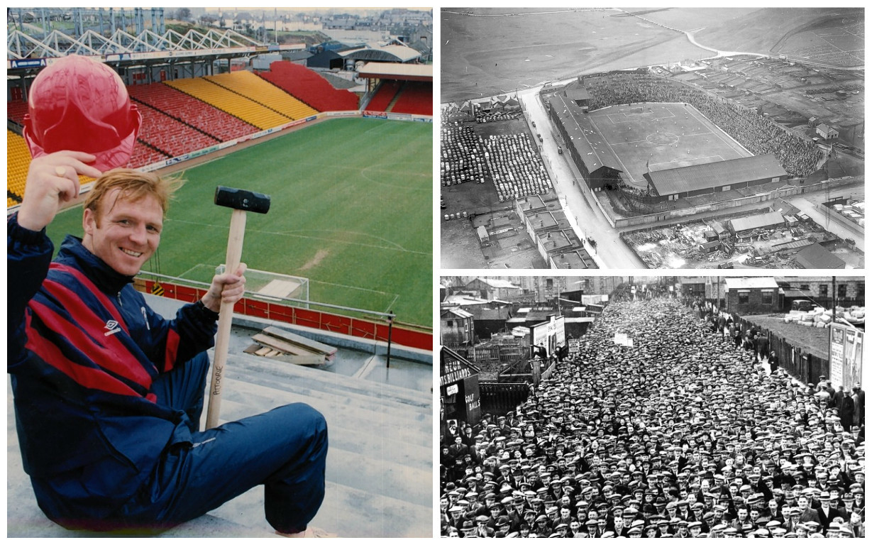 Pittodrie through the years