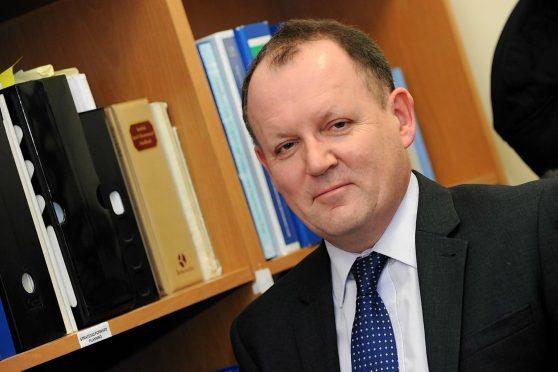 Moray Council chief executive Roddy Burns.